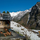 Hot Spring in the Himalaya