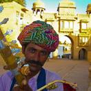 Street Performer in Rajastan
