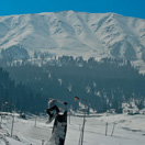 Playing in Gulmarg Village